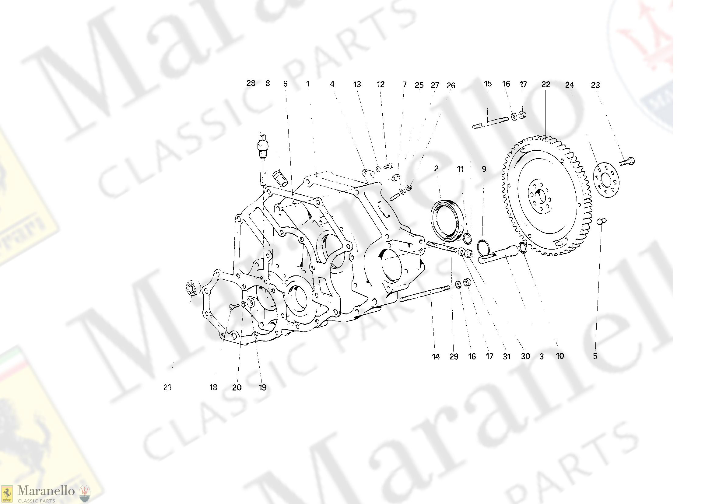 004 - Flywheel and Clutch Housing Spacer