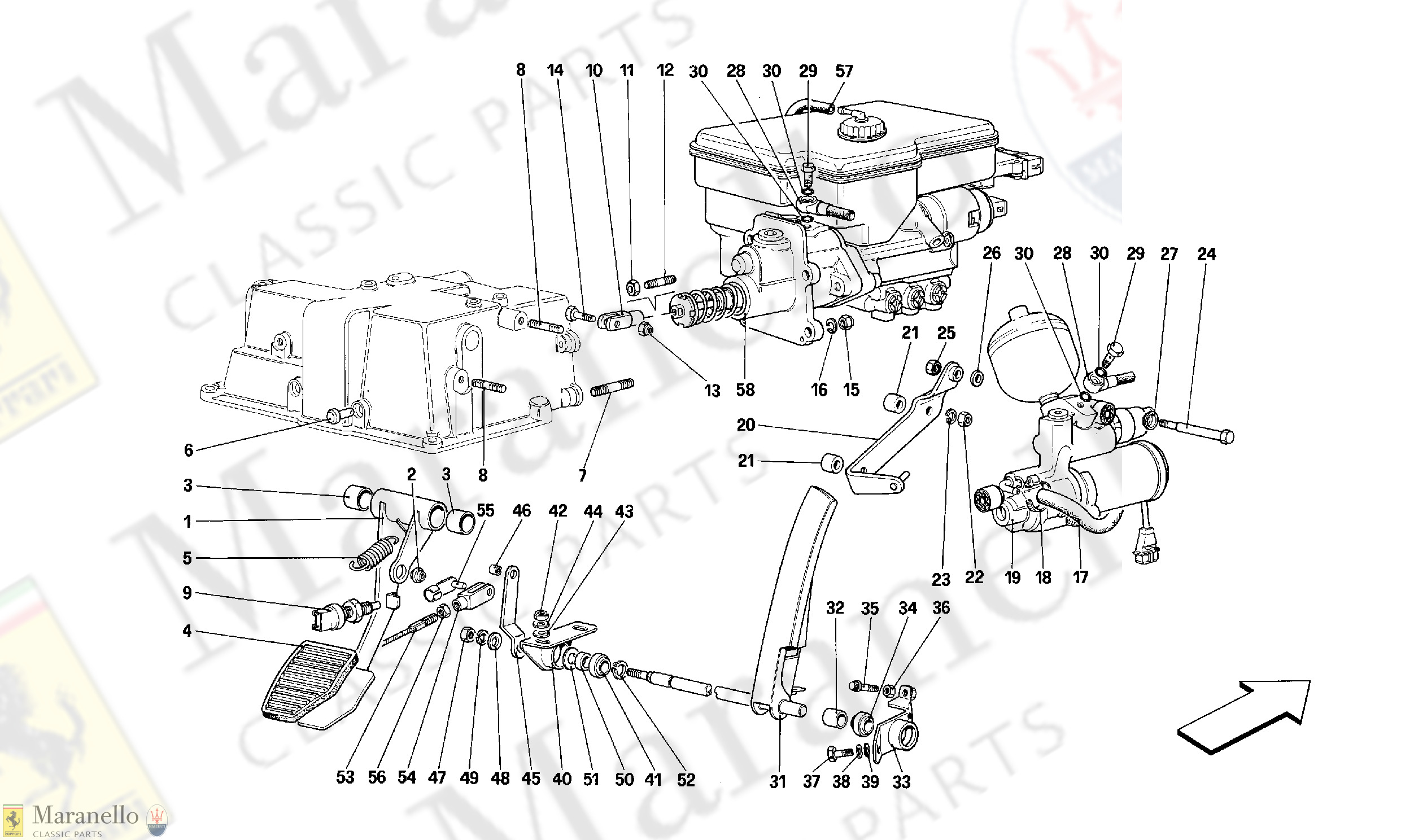 062 - Throttle Pedal And Brake Hydraulic System -Valid For Gd-