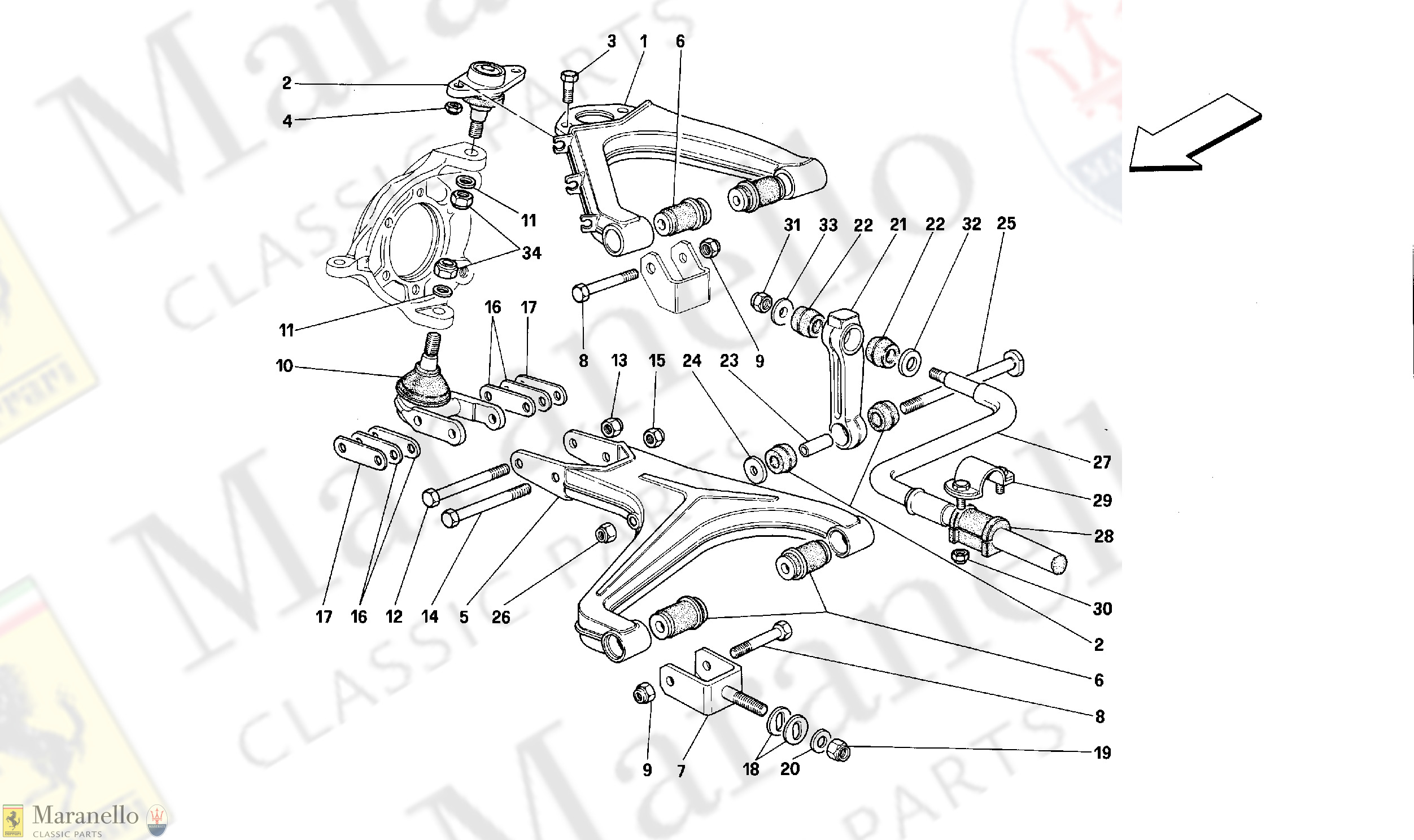 053 - Front Suspension - Wishbones