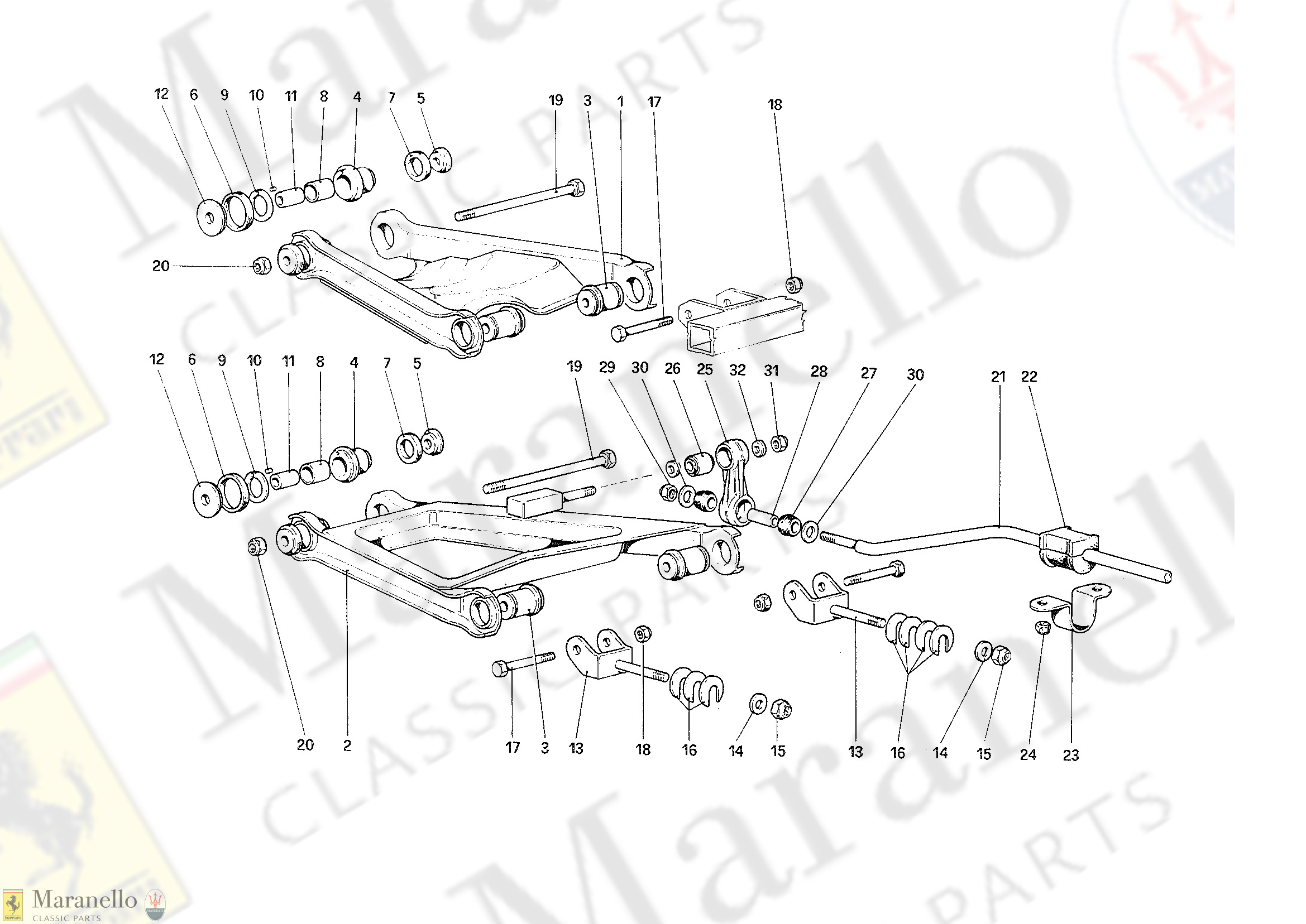 037 - Rear Suspension - Wishbones