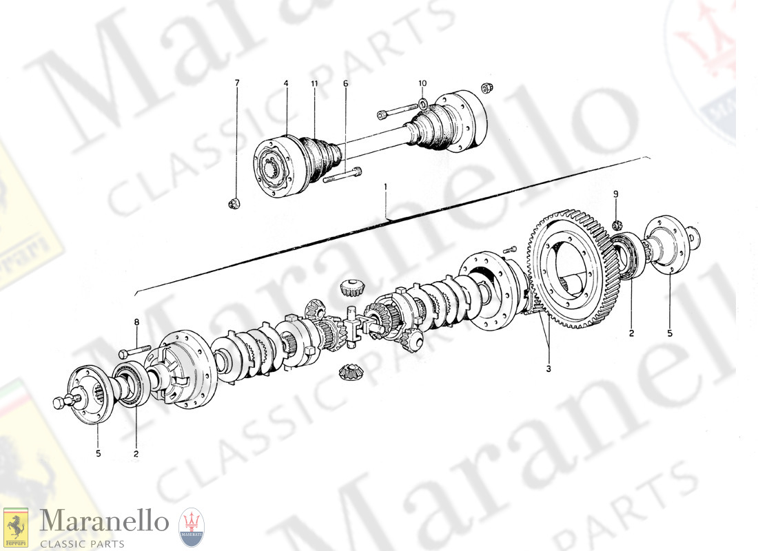 025 - Differential And Axle Shaft