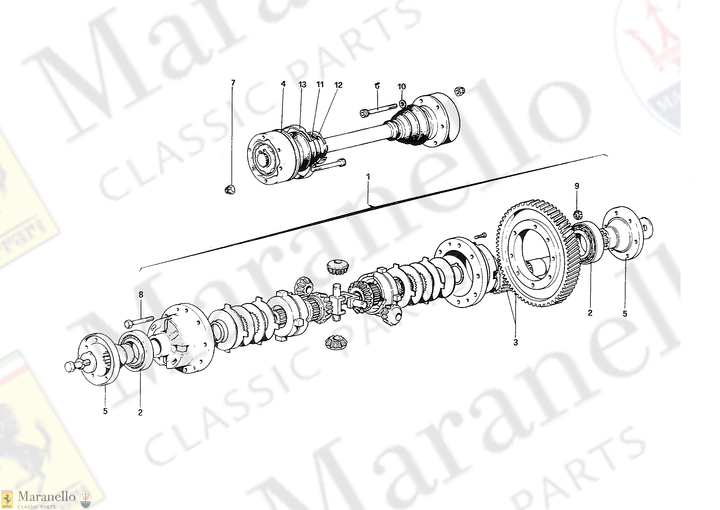 027 - Differential and Axle Shafts