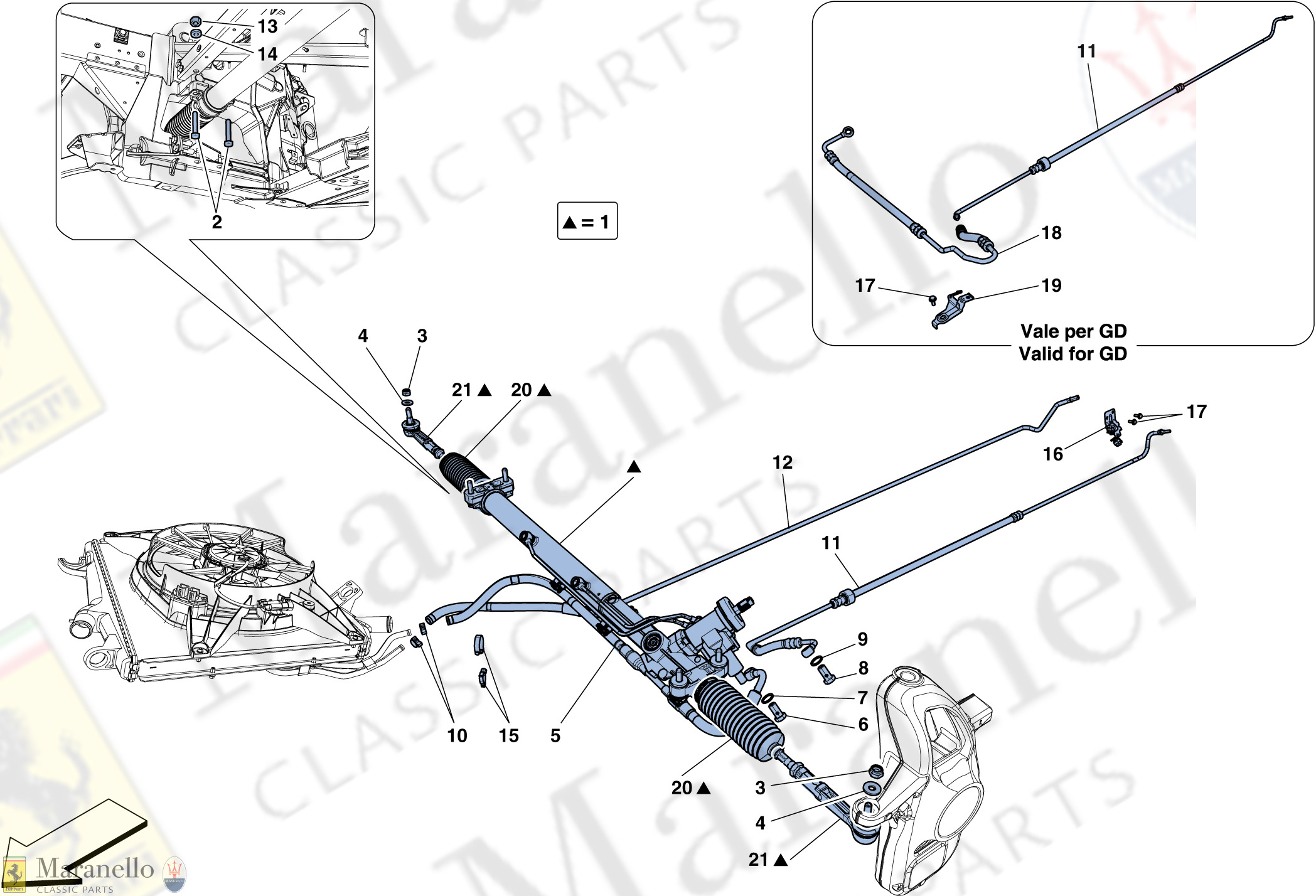 031 - Hydraulic Power Steering Box