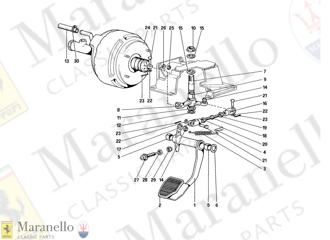 060 - Brake Hydraulic System (For Car Without Antiskid System - Variants For RHD Version)