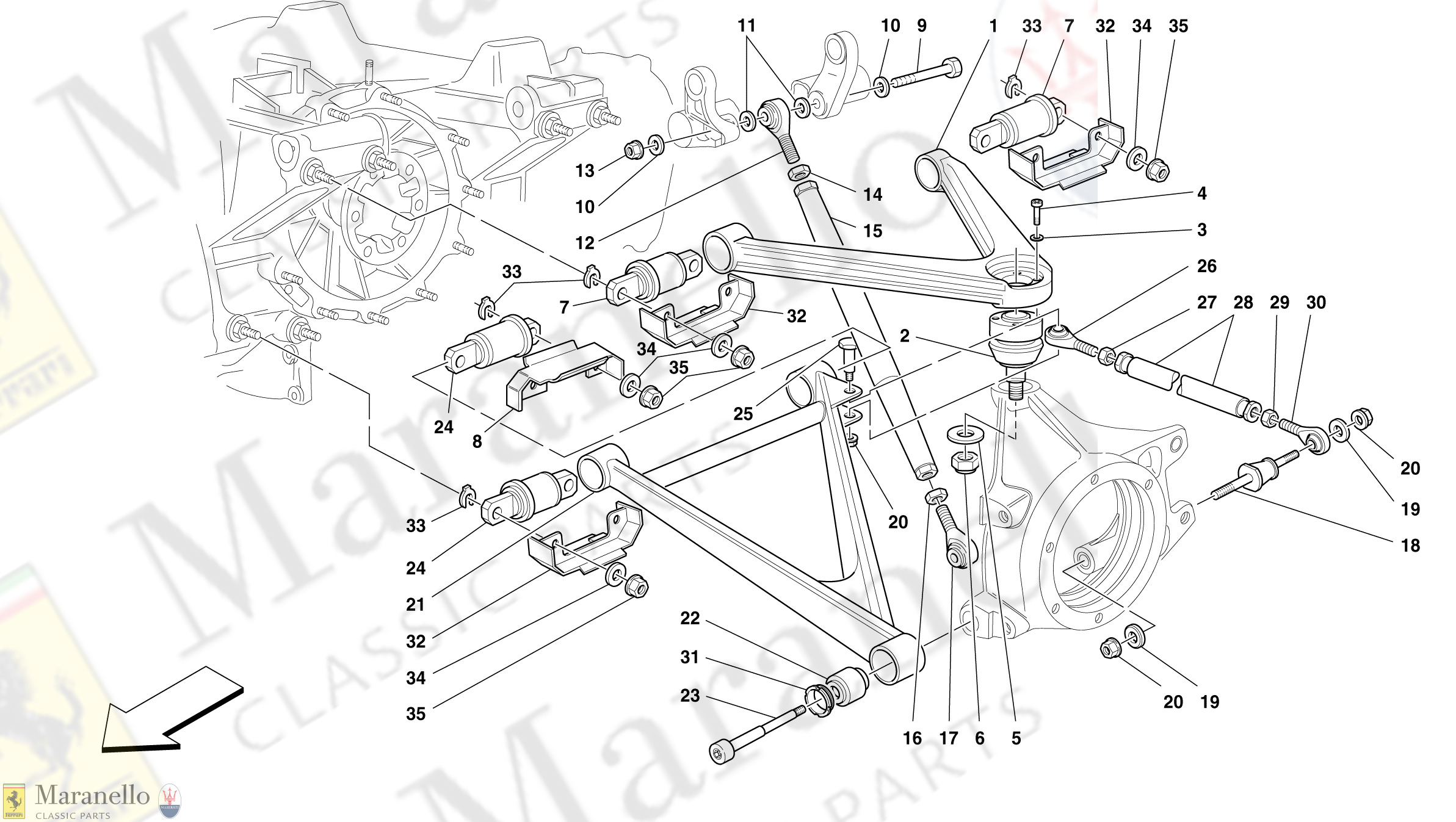 045 - Rear Suspension - Wishbones