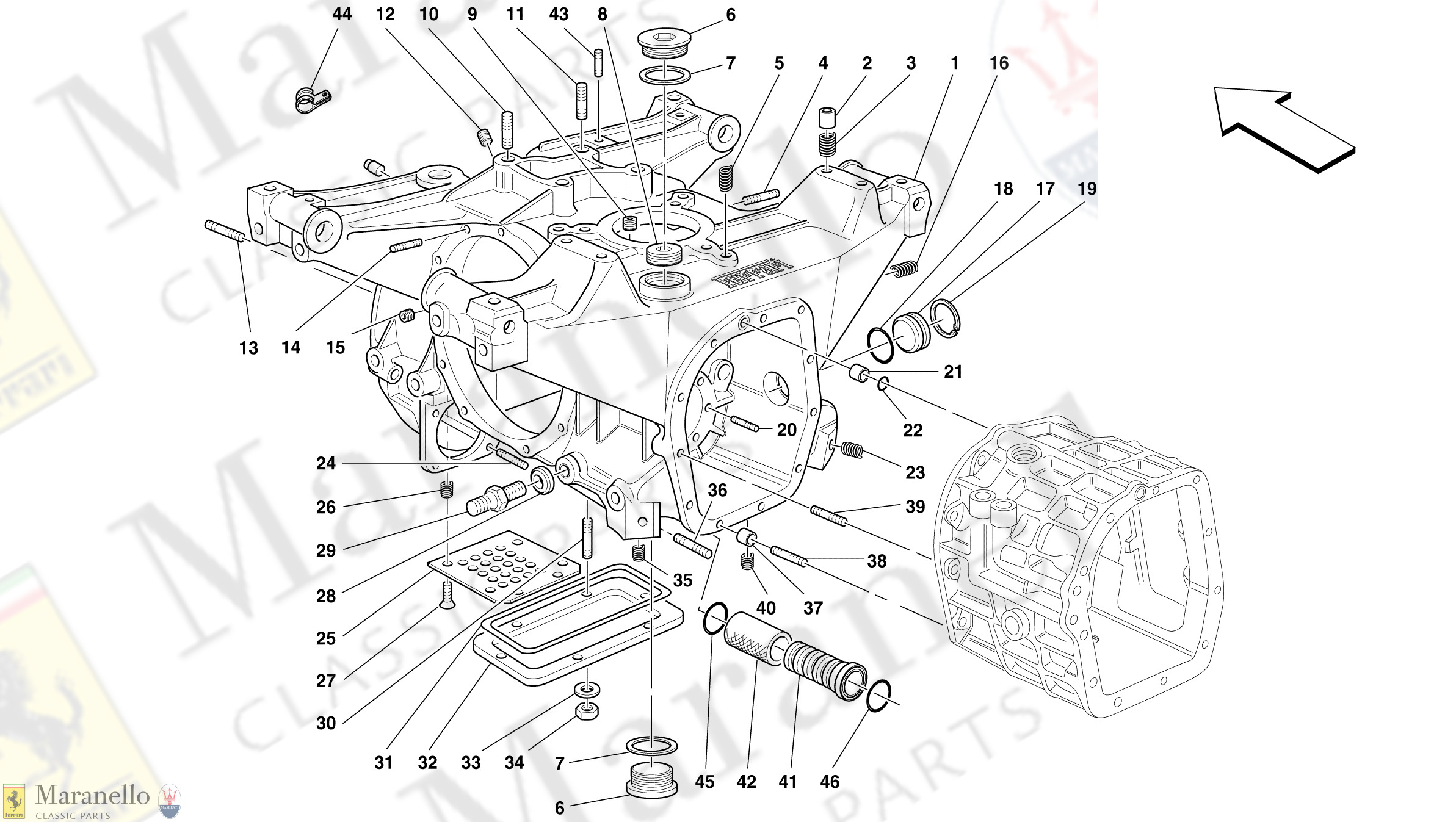 028 - Gearboxes/Differential Housing
