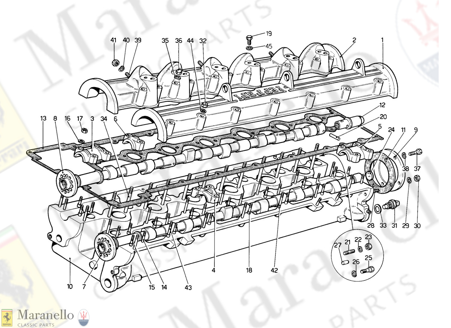 004 - Cylinder Head (Right)