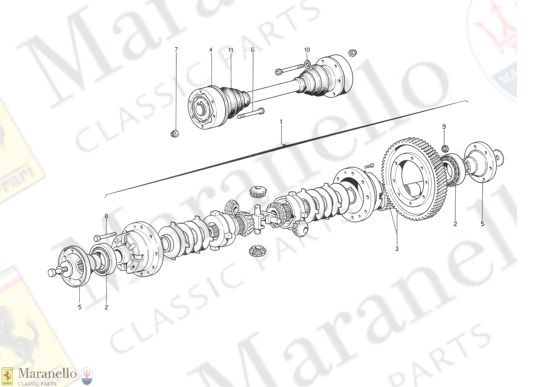 030 - Differential And Axle Shafts