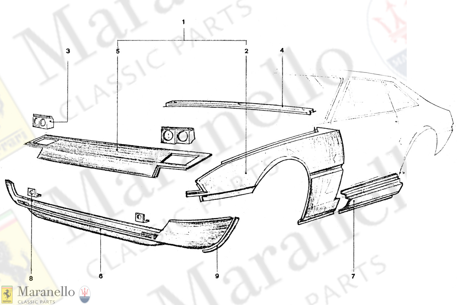 204 - Front Body Panels