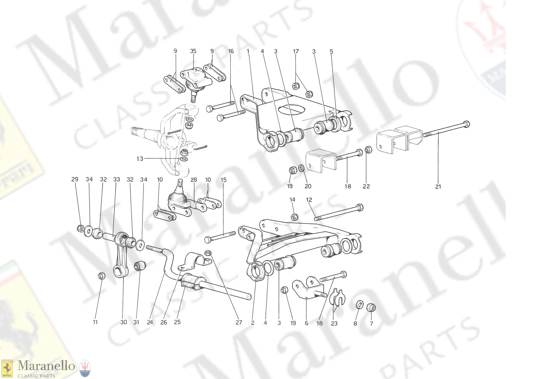 038 - Front Suspension - Wishbones