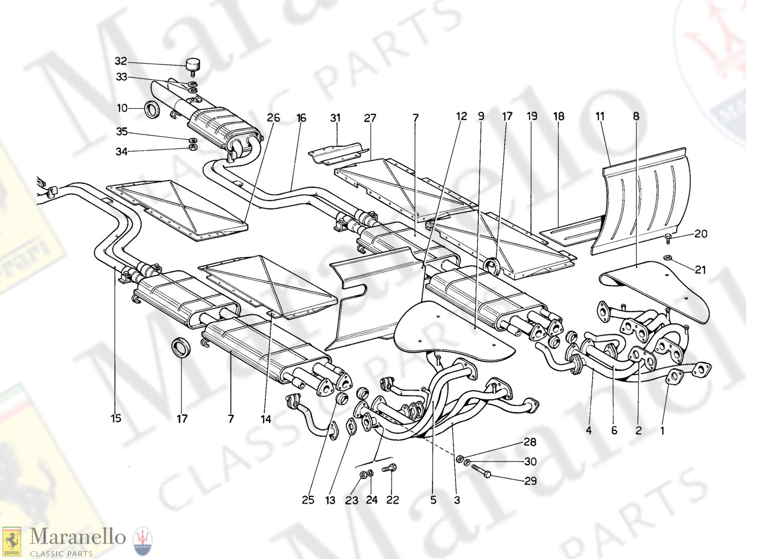 014 - Exhaust Manifold And Piping