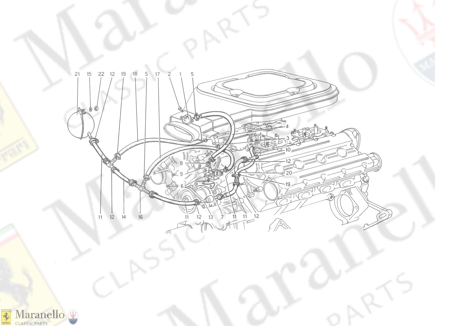 013 - Intake Air Cleaner Valve And Lines