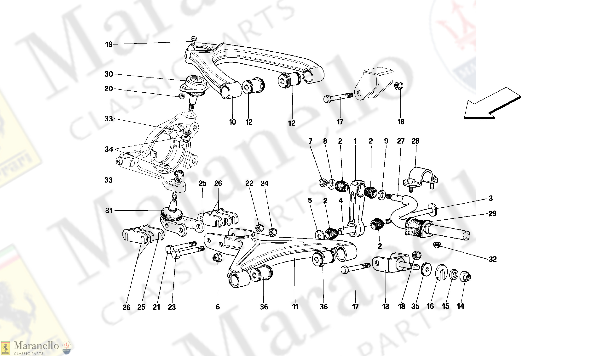 047 - Front Suspension - Wishbones