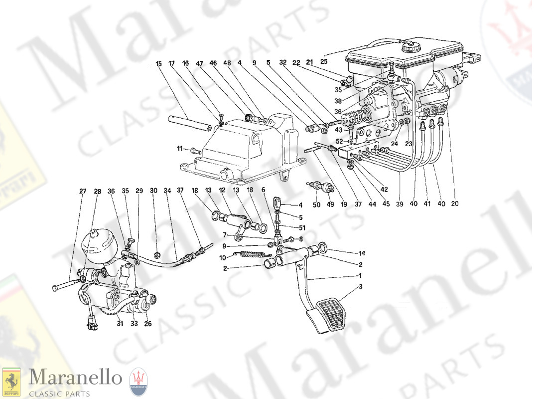 029 - Clutch Hydraulic System (For Car With Antiskid System)