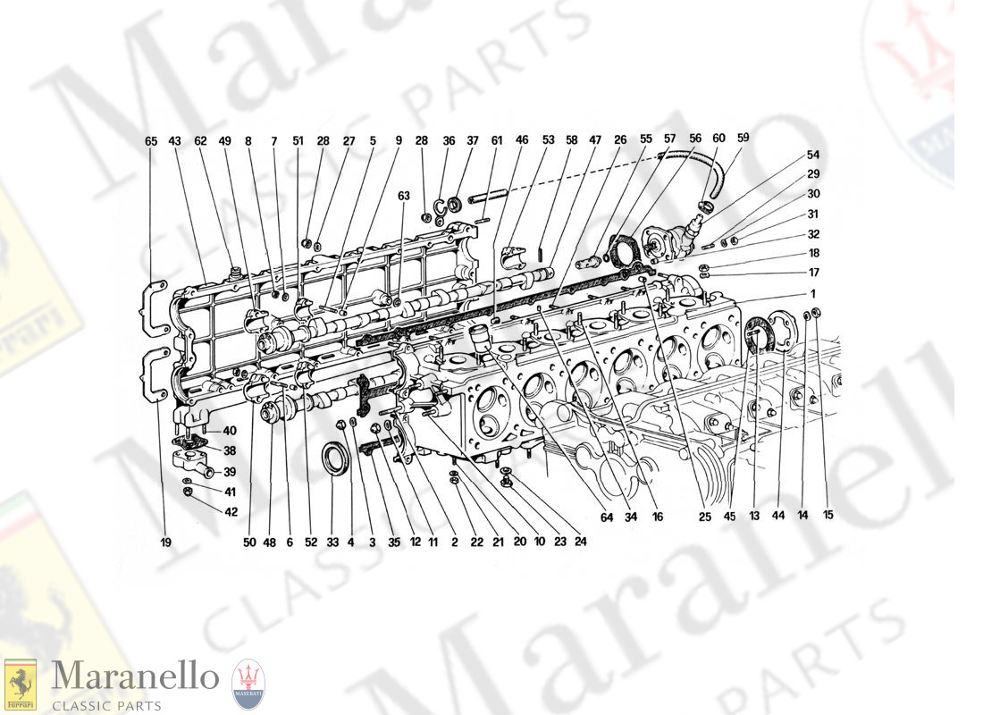 003 - Cylinder Head (Right)