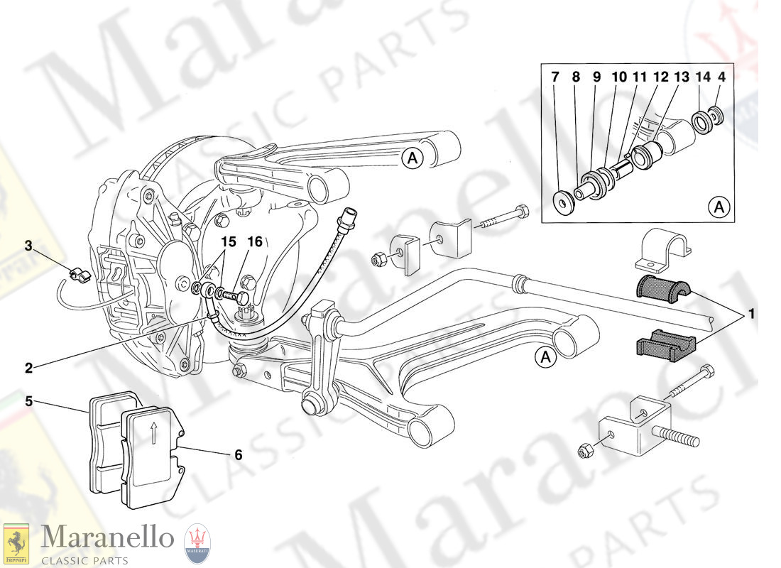 009 - Front Suspension Pads And Brake Pipes