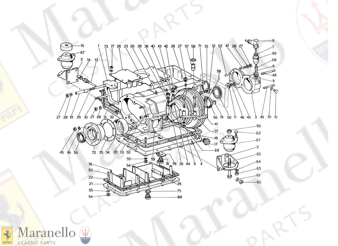 002 - Oil Sump - Gearbox And Differential