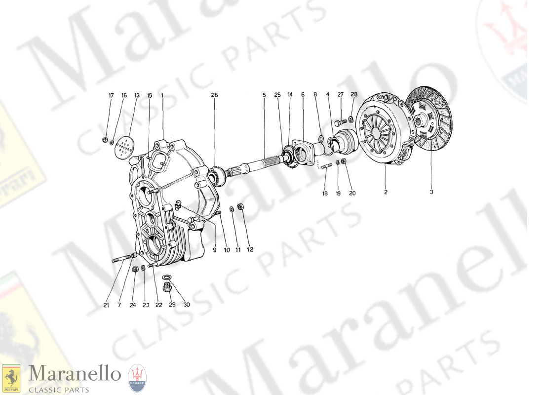 018 - Clutch Unit And Cover