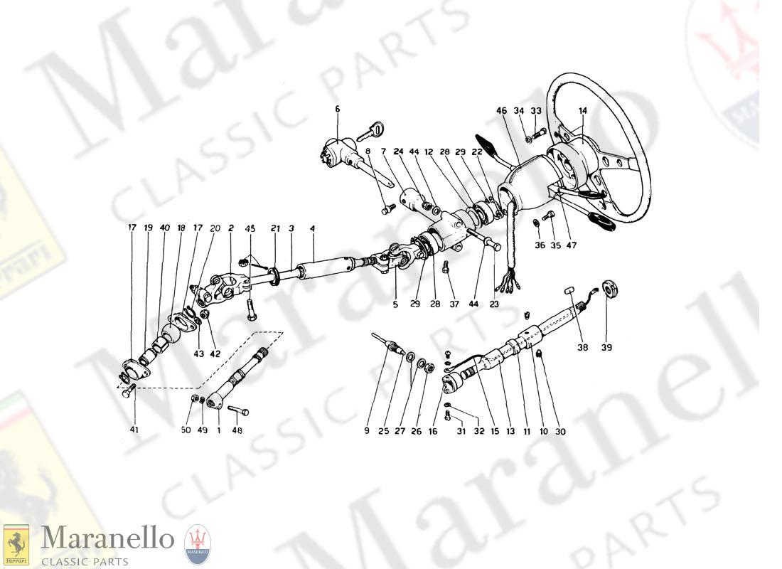 Ferrari part 101062 - Steering Column Universal Joint