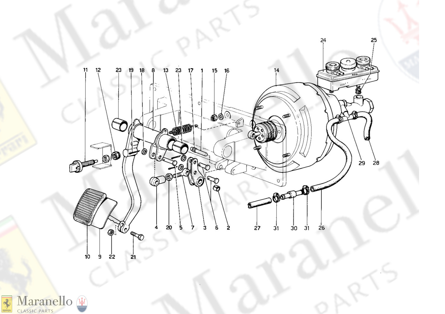 056 - Brakes Hydraulc Drive (400 Gt - Variants For RHD Version)