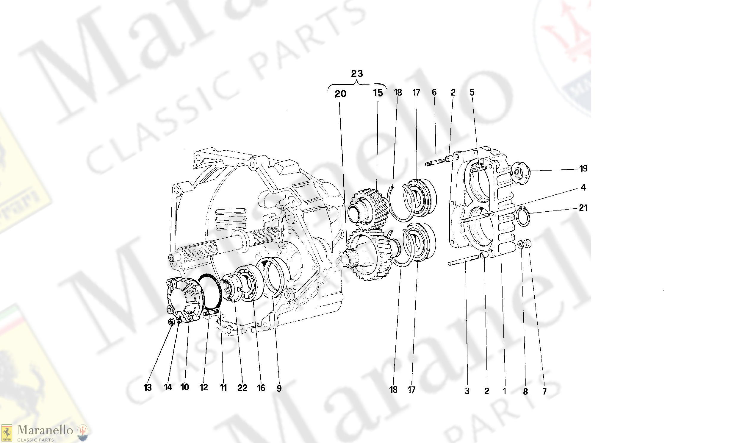 030 - Gearbox Transmission