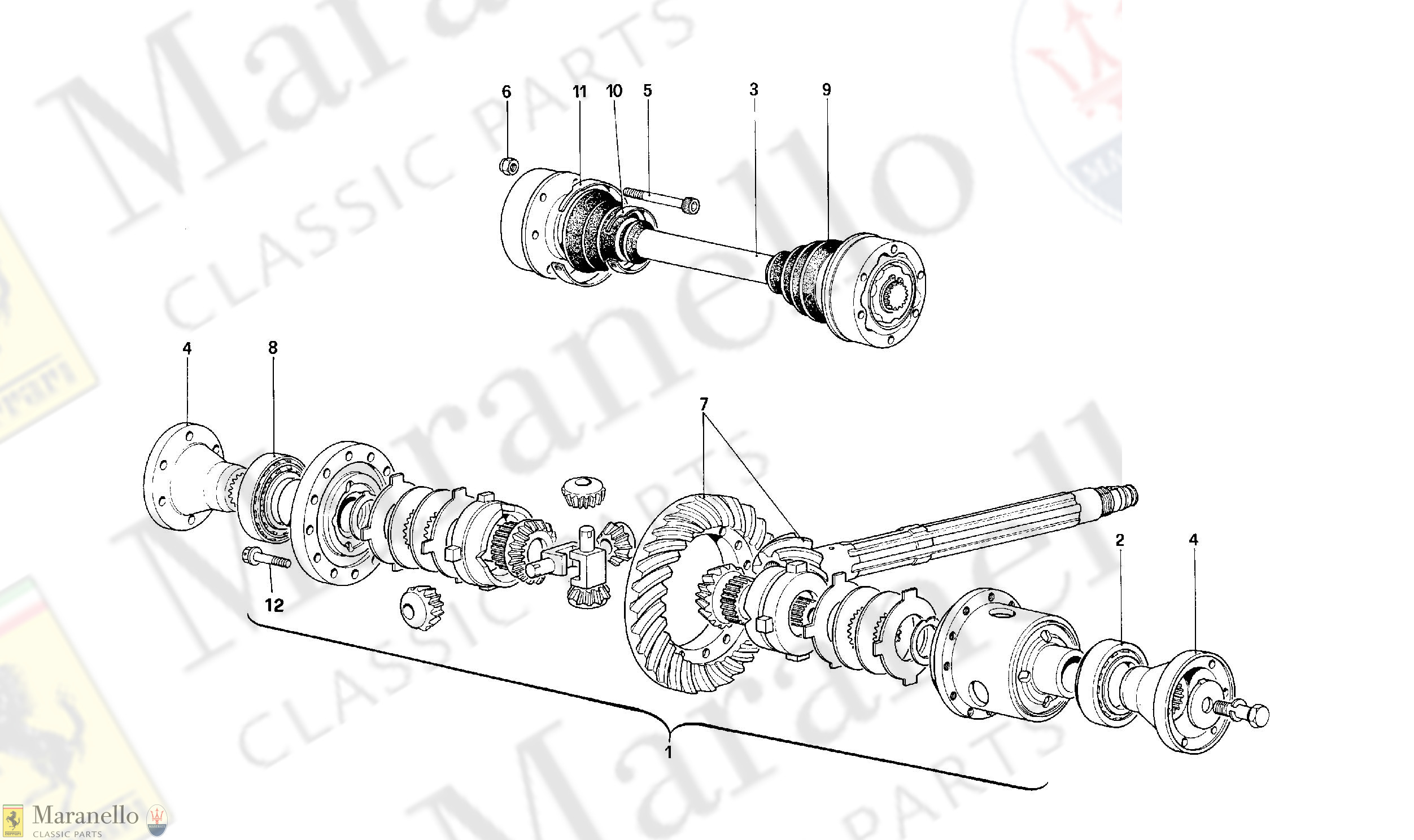 032 - Differential And Axle Shafts