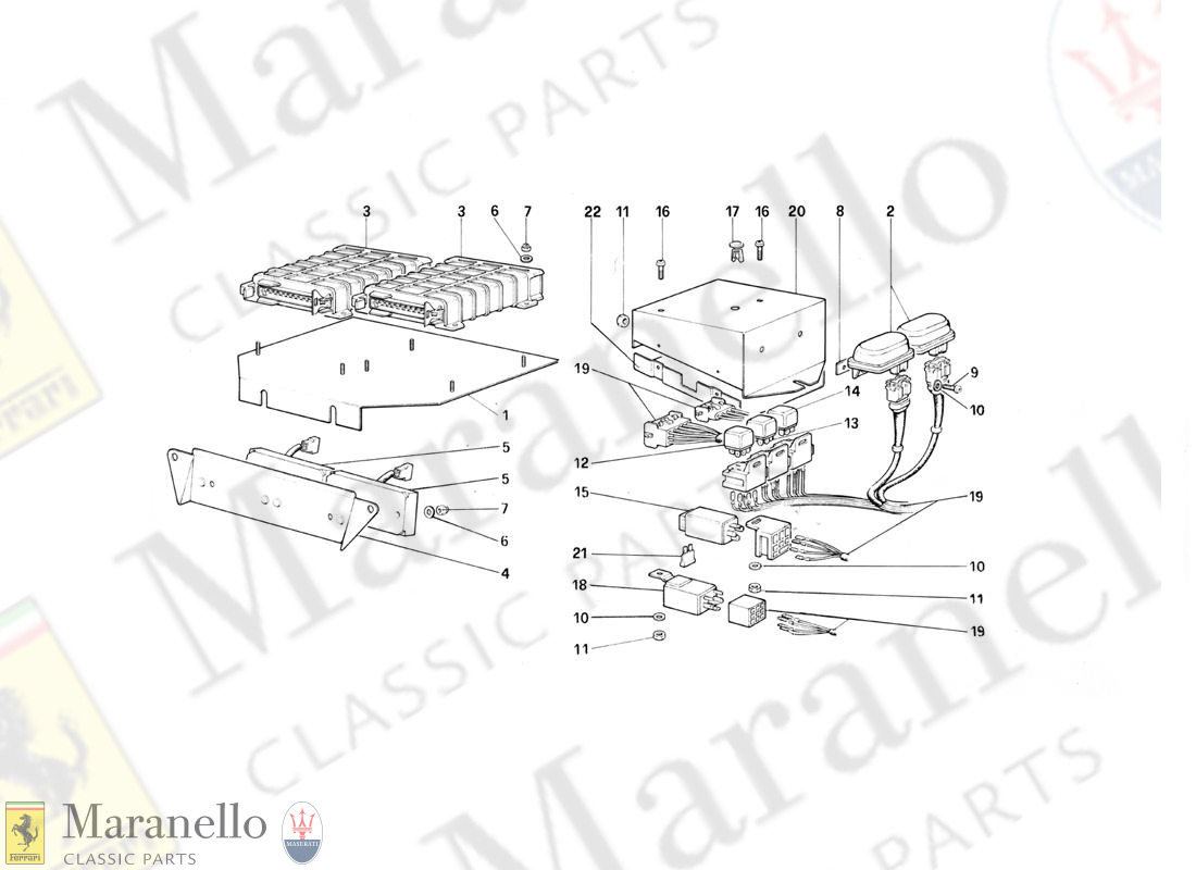123 - Electric Controls For Ke - Jetronic And Exhaust