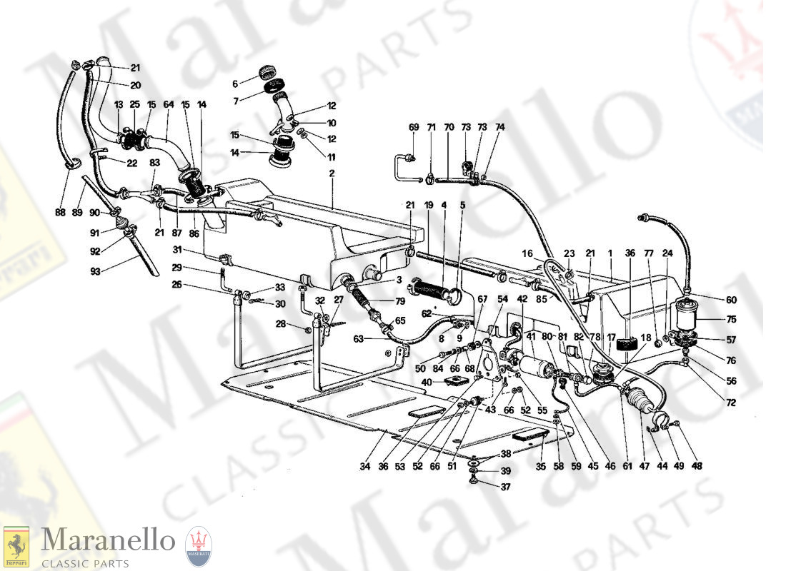 010 - Fuel Pump And Pipes (Cabriolet)