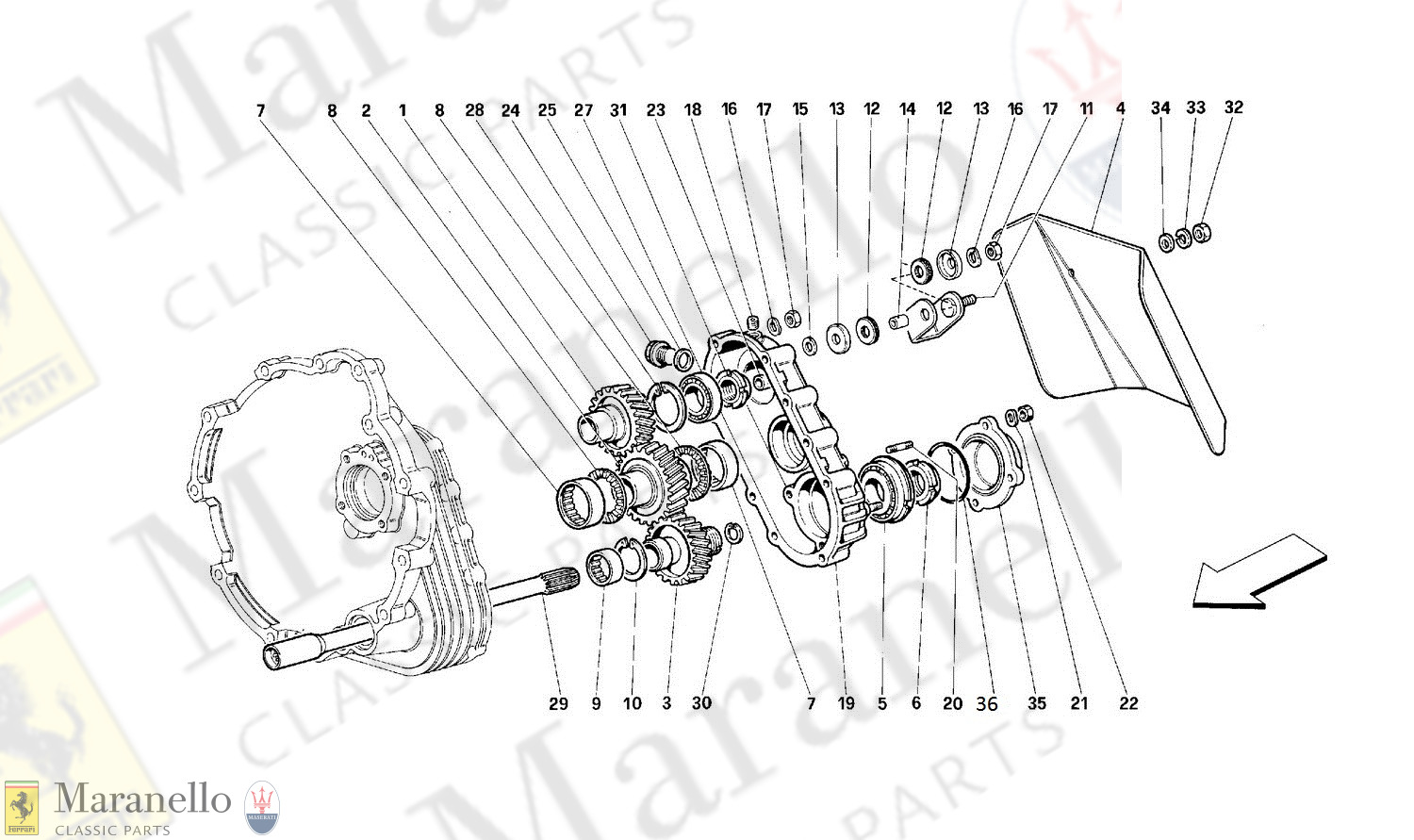 029 - Gearbox Transmission