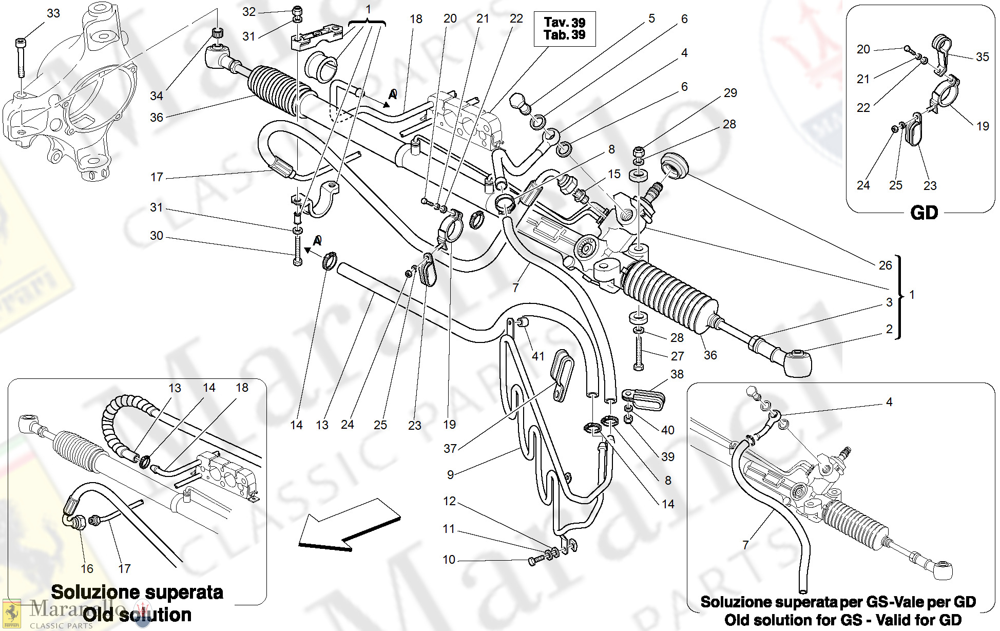 046 - Hydraulic Steering Box And Serpentine