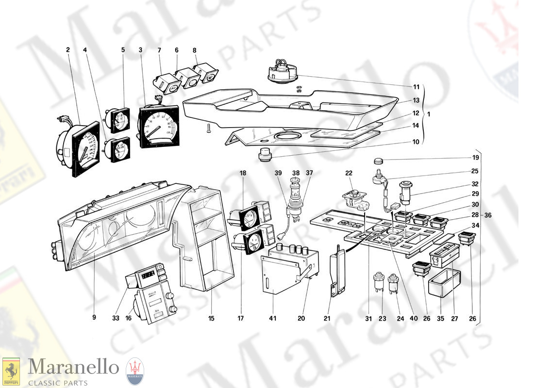 120 - Instruments And Passenger Compartment Accessories (Not For Us Version)