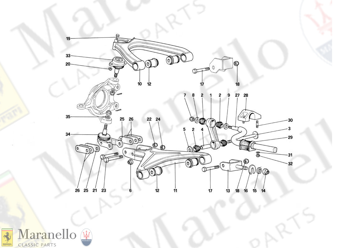 048 - Front Suspension - Wishbones (Starting From Car No. 75997)