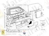 Part # 60644500 Ferrari Mondial,308 Clip