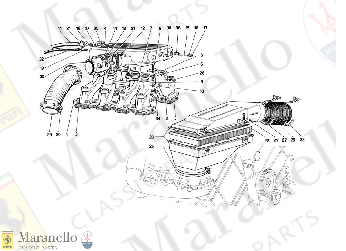 017 - Air Intake And Manifolds