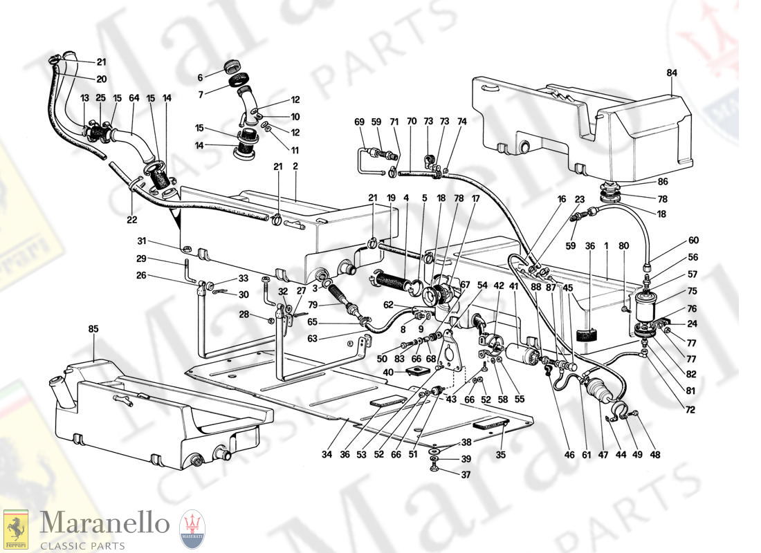 013 - Fuel Pump And Pipes (For Us Version)