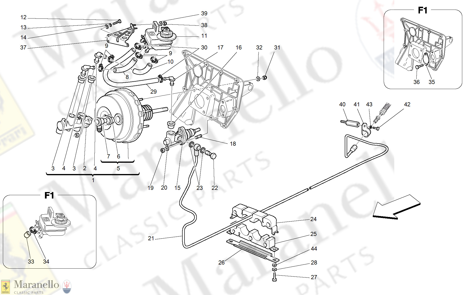 040 - Brakes And Clutch Hydraulic Controls -Valid For Gd-