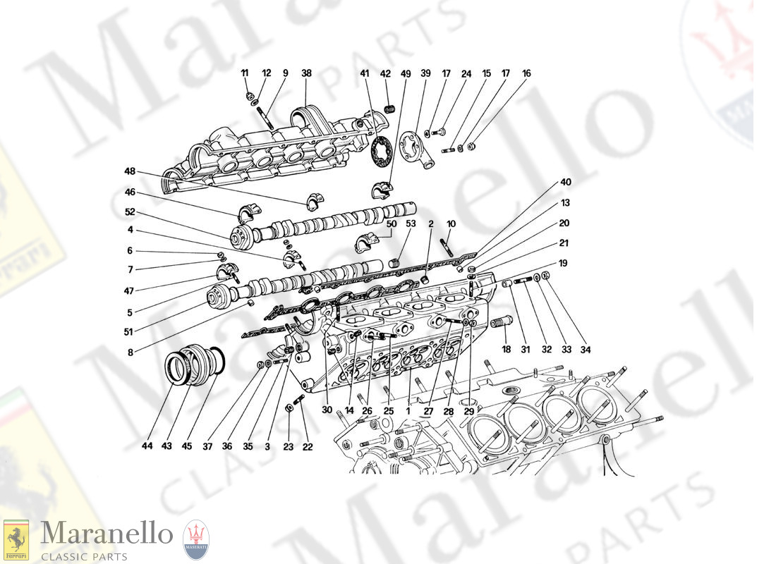 005 - Cylinder Head (Right)