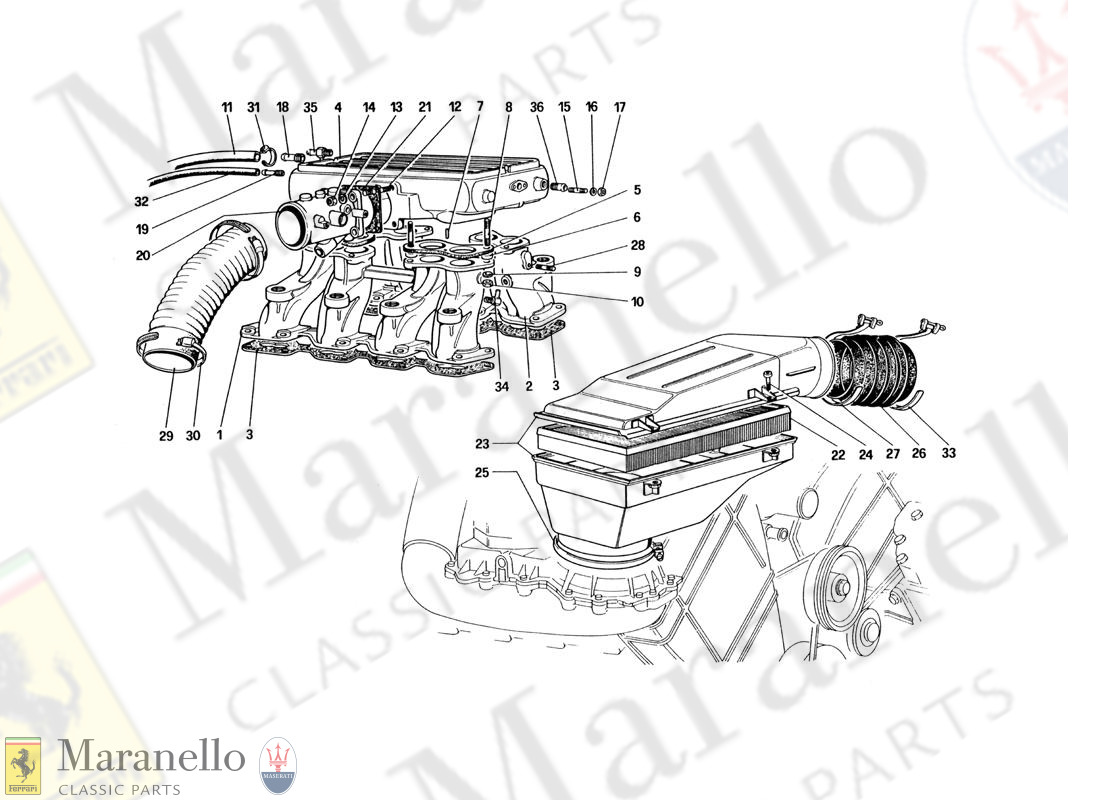 015 - Air Intake And Manifolds