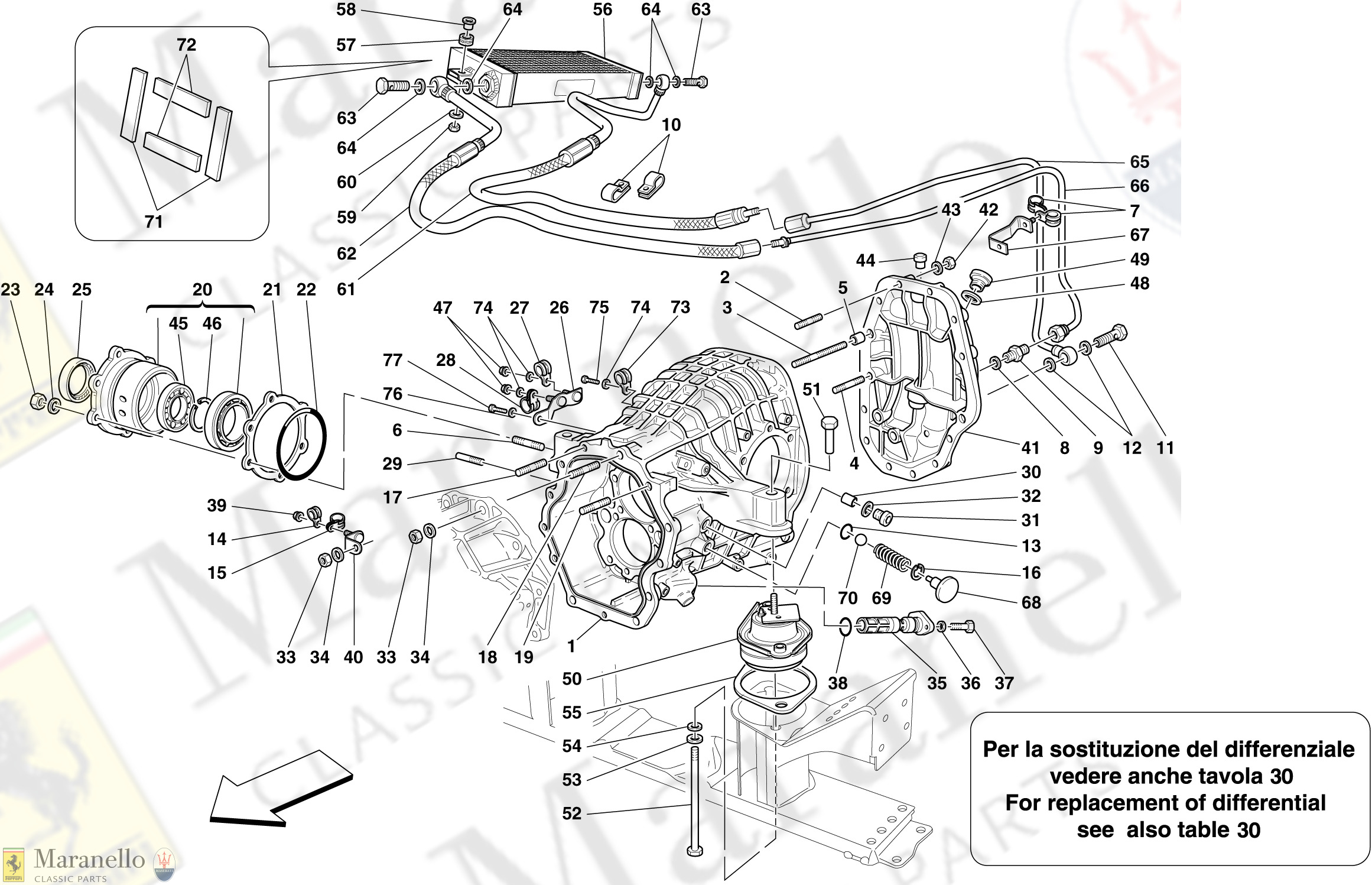 025 - Differential Case And Gearbox Cooling Radiator