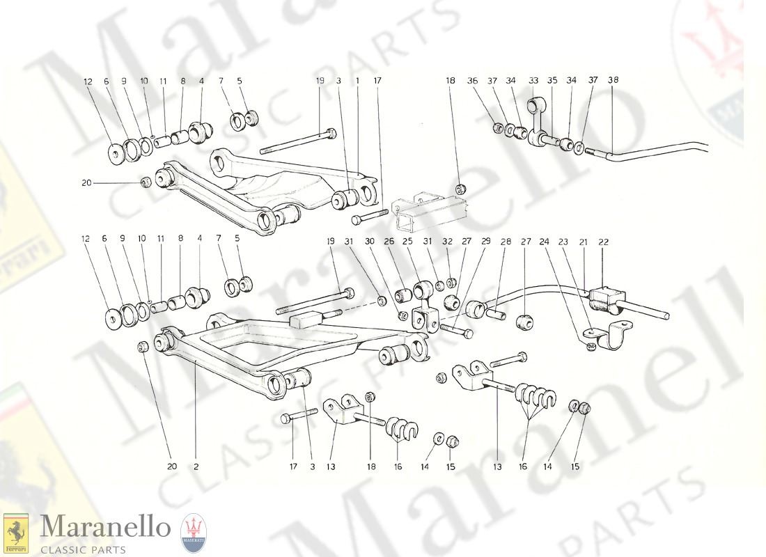 036 - Rear Suspension - Wishbones