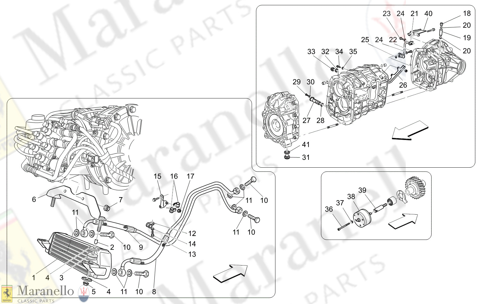 03.50 - 11 - 0350 - 11 Lubrication And Gearbox Oil Cooling