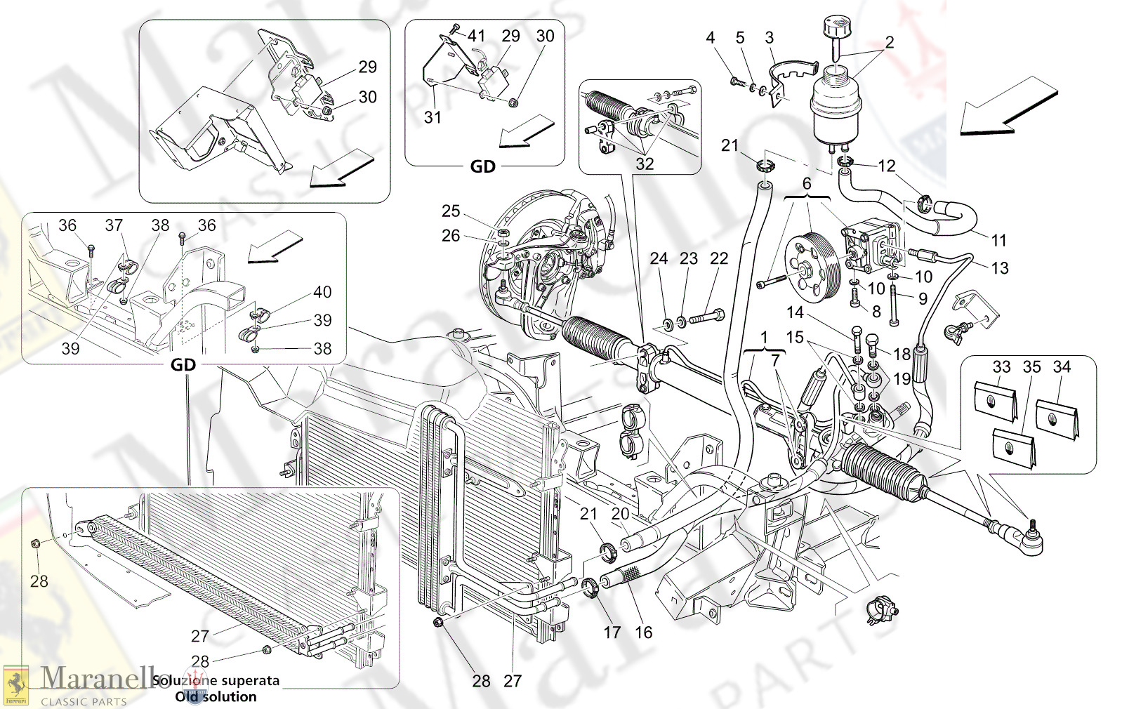 05.10 - 12 - 0510 - 12 Complete Steering Rack Unit