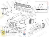 Ferrari 355 Challenge Spacer # 166891 2mm