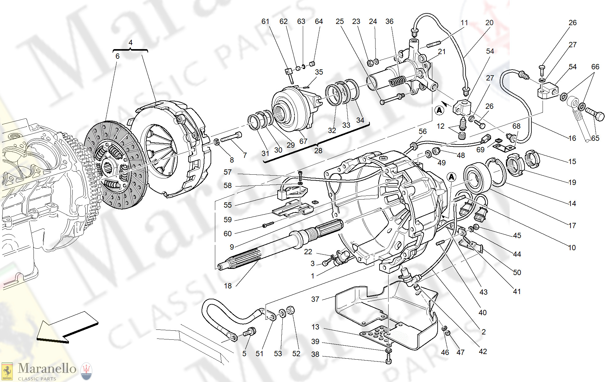 029 - Clutch And Controls -Valid For F1-