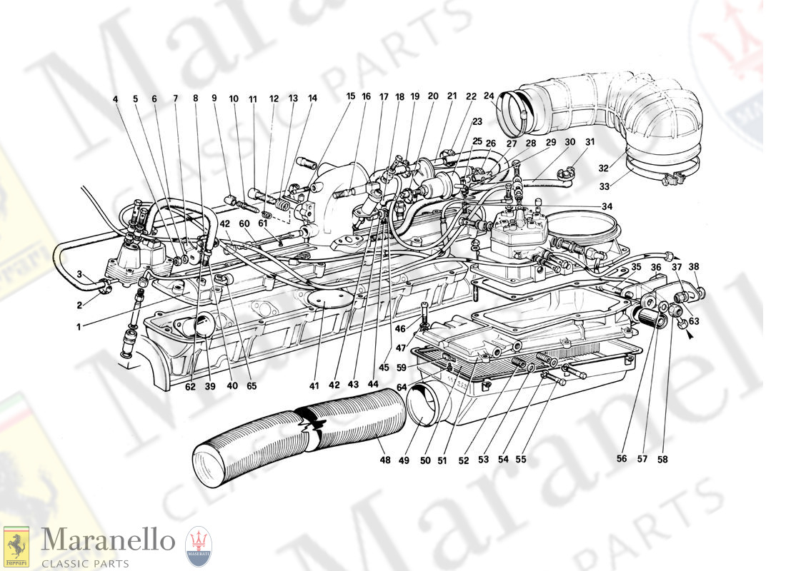 011 - Fuel Injection System - Air Intake, Lines