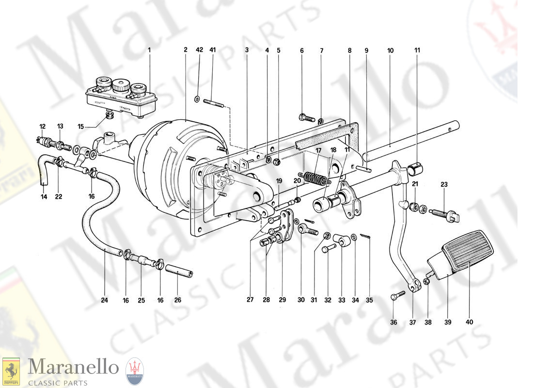 033 - Brakes Hydraulic Controll (400 Automatic - For Lhd)