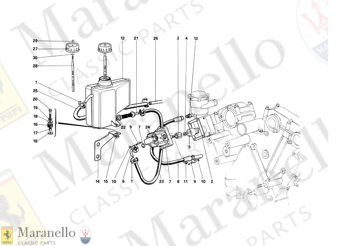 047 - Rear Suspension - Oil Tank And Oil Pump