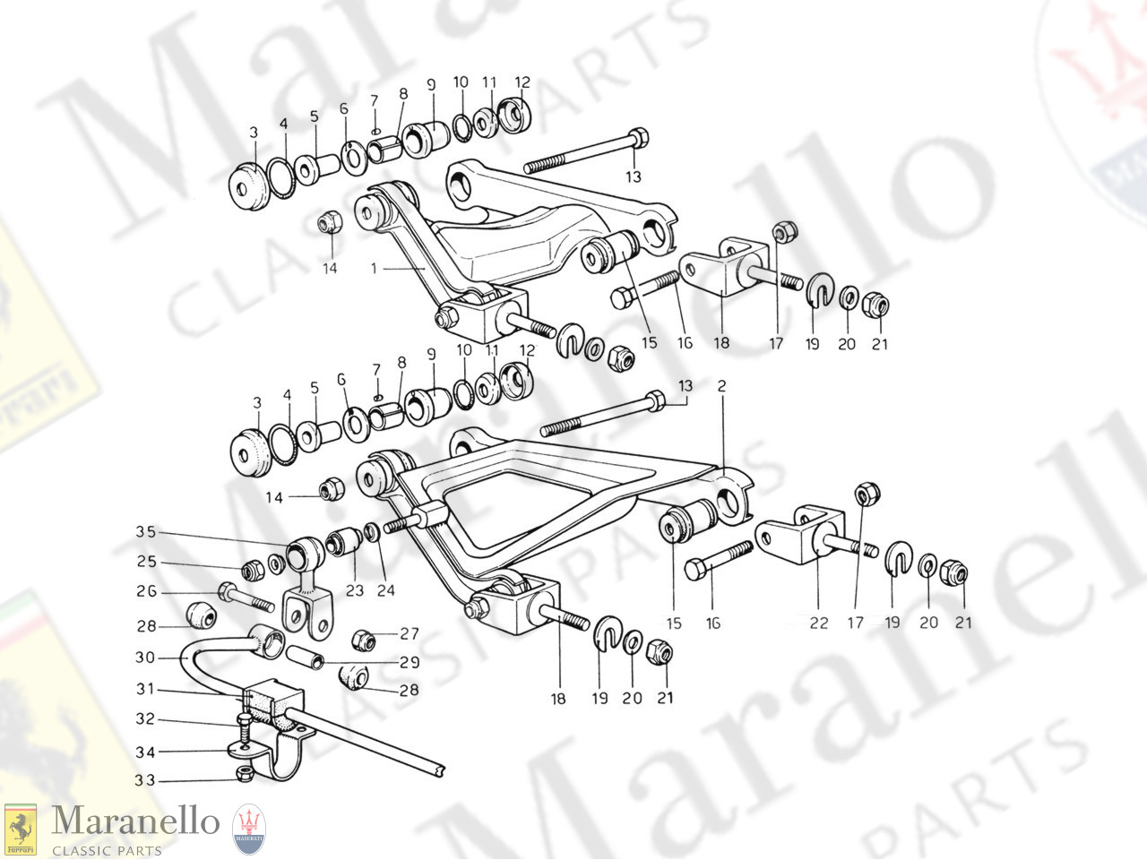 035 - Rear Suspension - Levers
