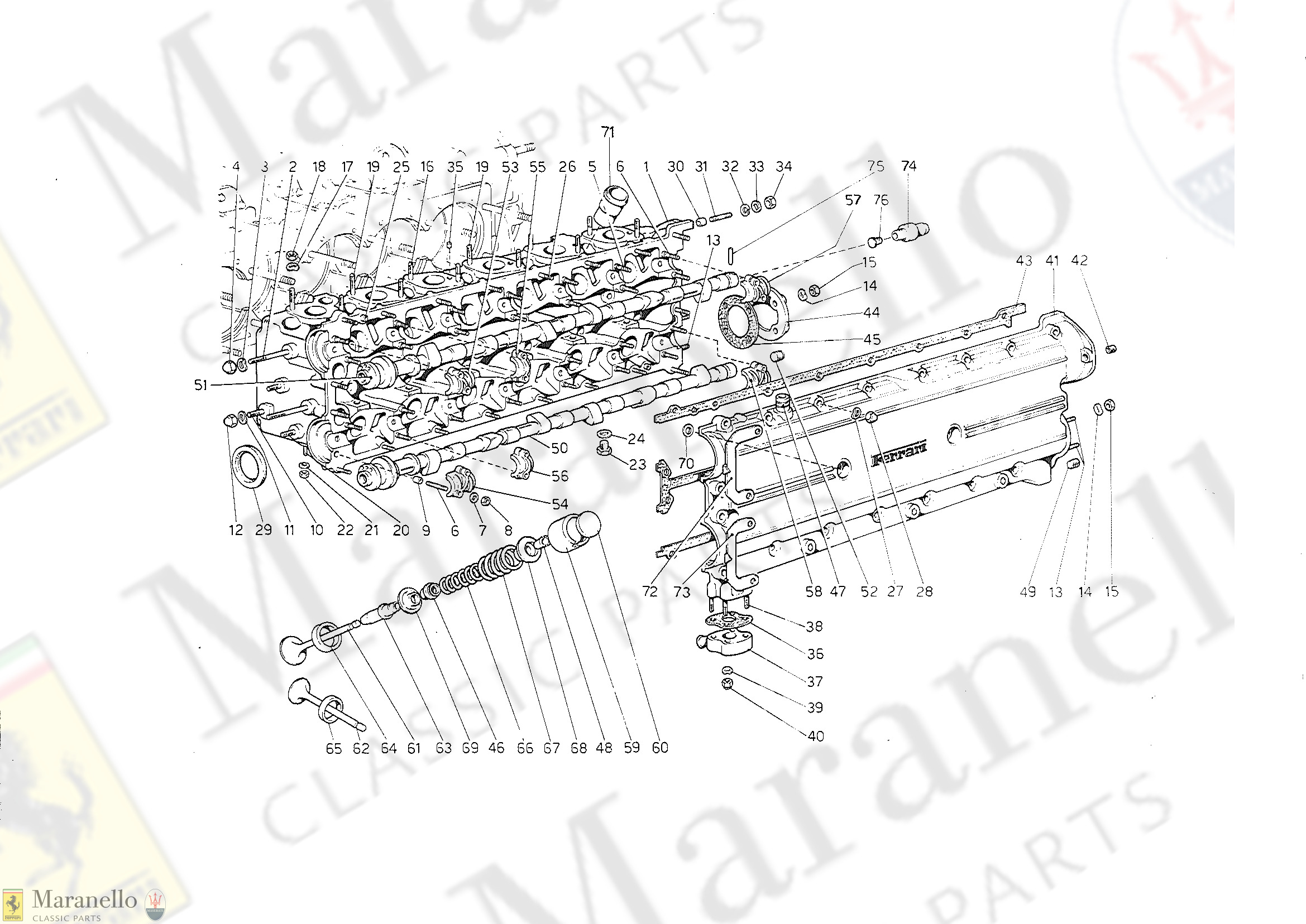 004A - Cylinder Head (Left) (1978 Revision)