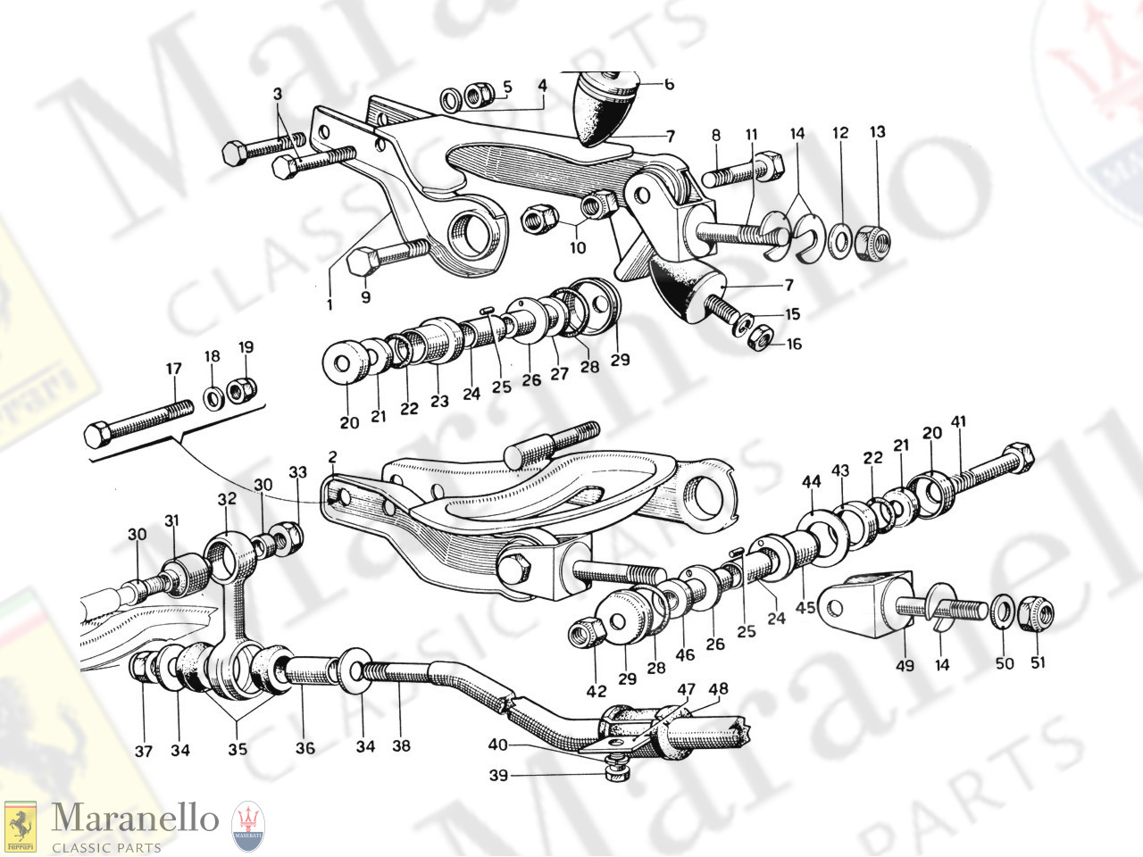 024 - Front Suspension - Wishbones
